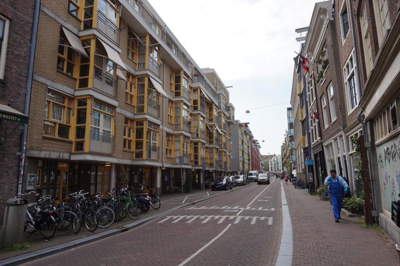 Aspecto actual del barrio judío de Ámsterdam