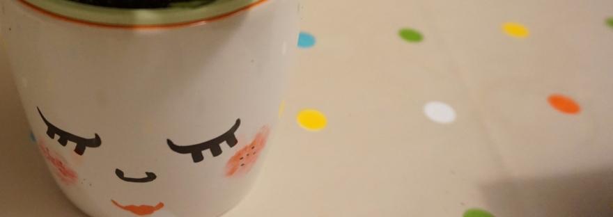 Taza pintada DIY