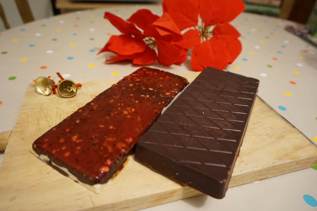 Receta turrón casero de chocolate