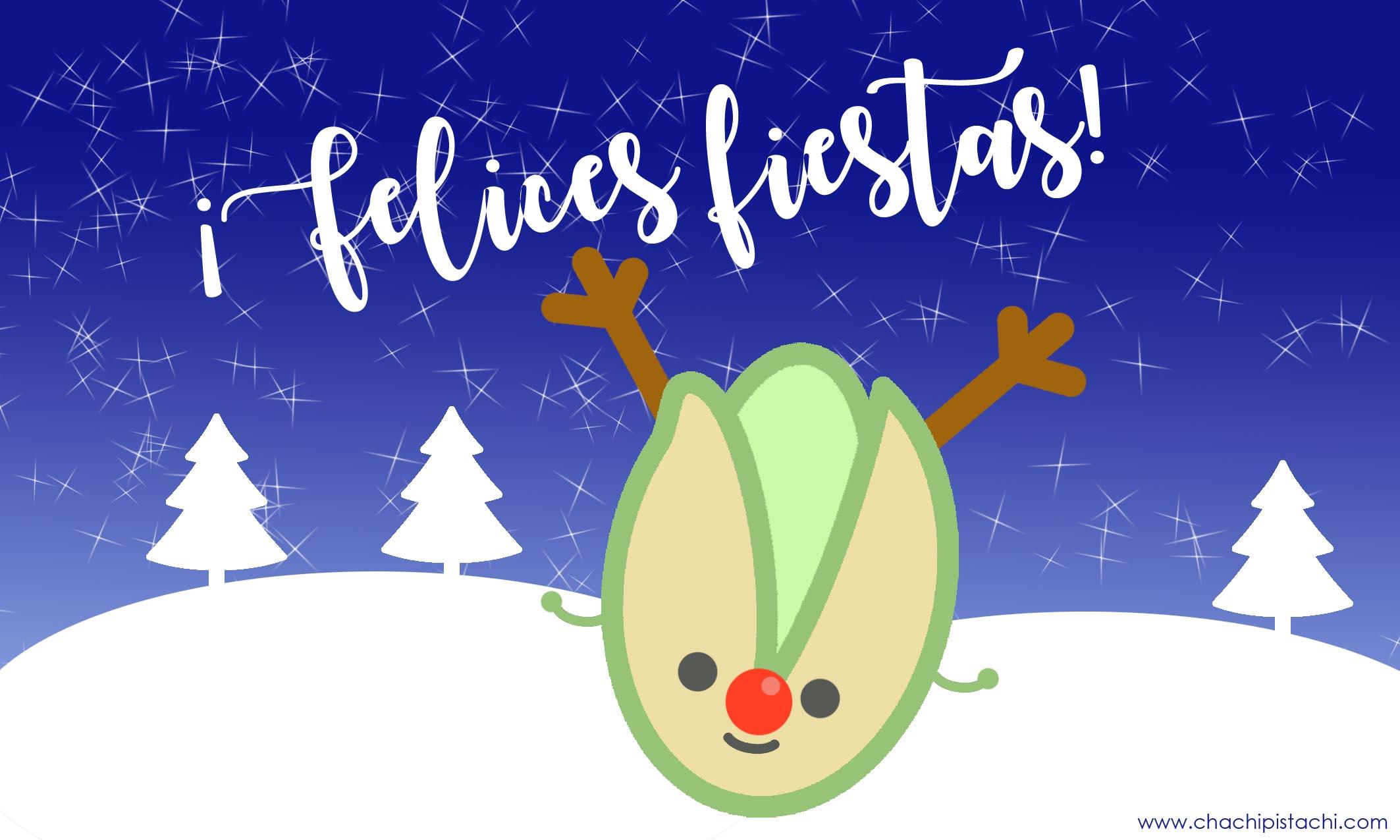 Felices Fiestas-postal navidad